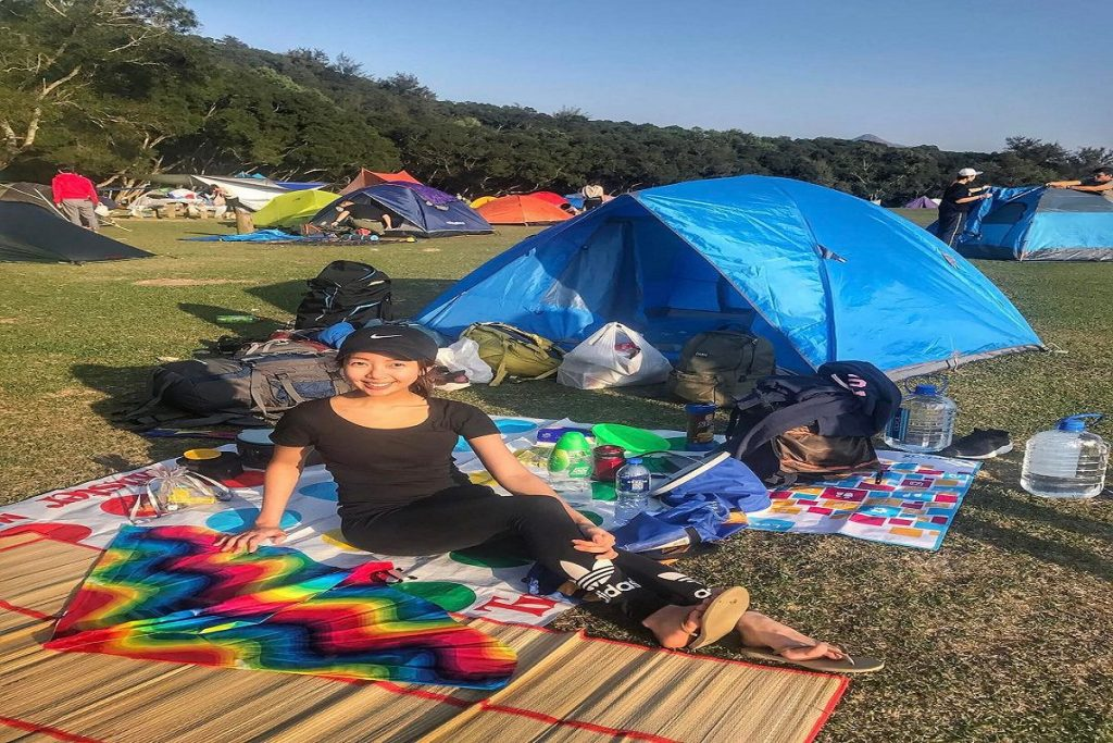 Pitching process: application submitted for Sai Kung camping grounds